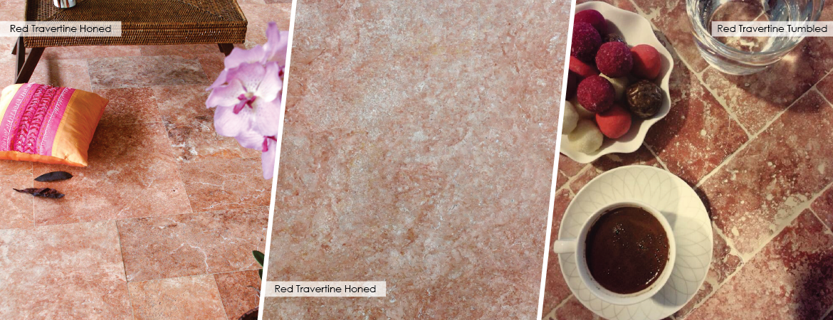 Pink Travertine